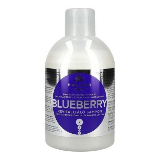 Kallos KJMN Blueberry Czarna Jagoda Szampon do włosów 1L - 1