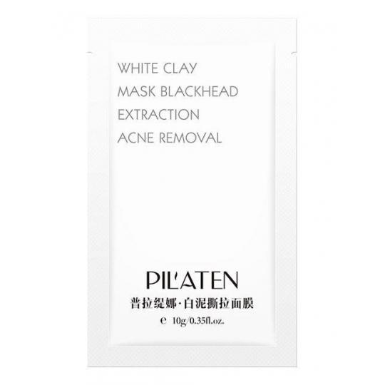 PILATEN White Clay Mask Maska z białą glinką 10g - 1