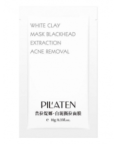 PILATEN white biała maska - saszetka 10g
