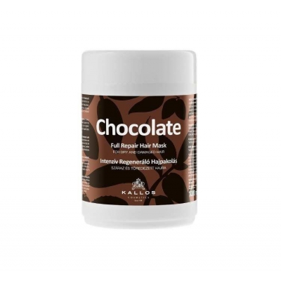 KALLOS Maska do włosów CHOCOLATE 1000ml - 1