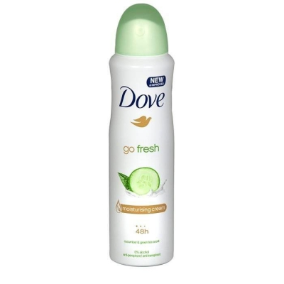 DOVE GO FRESH CUCUMBER ANTYPERSPIRANT W SPRAYU - 1