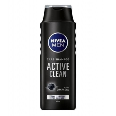 NIVEA MEN PIELĘGNUJĄCY SZAMPON ACTIVE CLEAN 400ml - 1