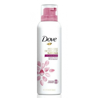 Dove mus do mycia ciała Rose Oil 200ml - 1