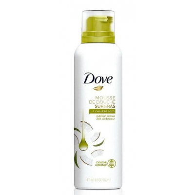 Dove mus do mycia ciała Coconut Oil 200ml - 1