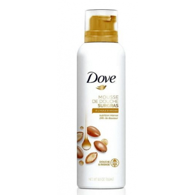 Dove mus do mycia ciała Argan Oil 200ml - 1