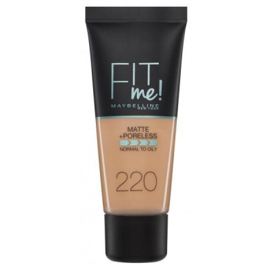 MAYBELLINE FIT ME PODKŁAD 220 NATURAL BEIGE 30ML - 1
