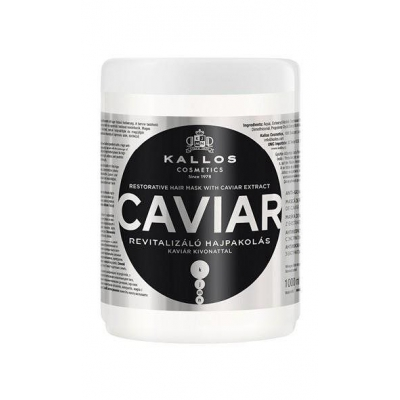 KALLOS KJMN CAVIAR RESTORATIVE HAIR MASK WITH CAVIAR EXTRACT 1L - 1