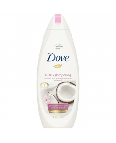 Dove Body Wash Żel Pod Prysznic Purely Pampering Coconut Milk With Jasmine 500ml