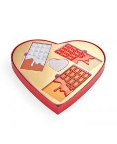 I HEART REVOLUTION CHOCOLATE HEART - ZESTAW PREZENTOWY