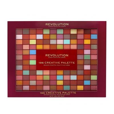 Makeup Revolution 196 Colour Creative Palette - 1