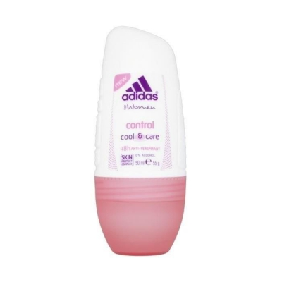 ADIDAS CONTROL COOL AND CARE ANTYPERSPIRANT ROLL ON 50ML - 1