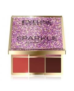 EVELINE Sparkle Paleta 9 cieni