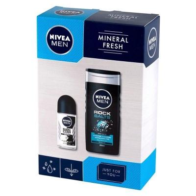 Nivea Men Mineral Fresh XMASS PREZENT ZESTAW - 1