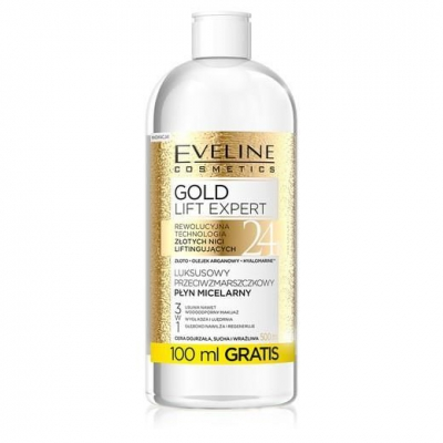 EVELINE GOLD LIFT EXPERT PŁYN MICELARNY 3W1 500ML - 1