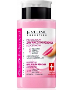 EVELINE Nail Therapy Zmywacz do paznokci 190ml