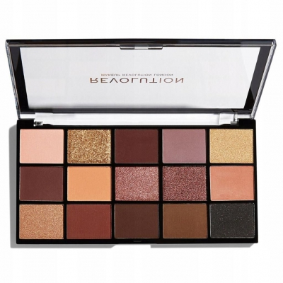 MAKEUP REVOLUTION PALETA RELOADED VELVET ROSE - 1