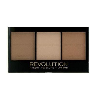 Makeup Revolution paleta do konturowania twarz C04 - 1