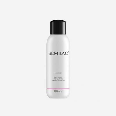 SEMILAC Remover Płyn do Usuwania Hybryd 500 ml - 1