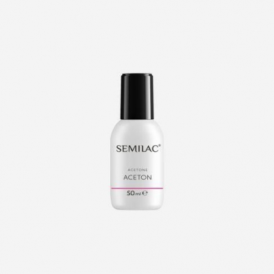 SEMILAC ACETON DO USUWANIA HYBRYD 50ml - 1