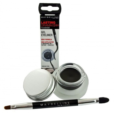 Maybelline Eyestudio Lasting Drama Żelowy Eyeliner - 1