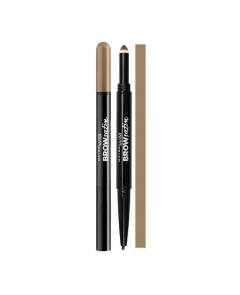Maybelline Brow Satin Duo Kredka Do Brwi Brunette