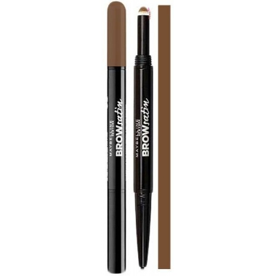 Maybelline Brow Satin Duo Kredka Do Brwi Medium Brown - 1