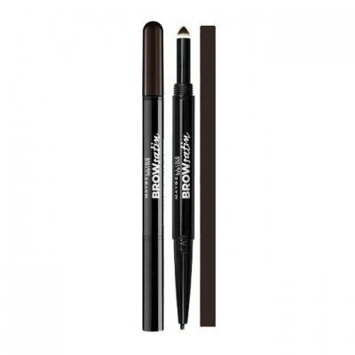 Maybelline Brow Satin Duo Kredka Do Brwi Black Brown - 1