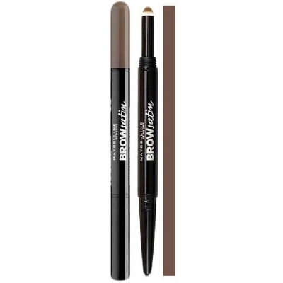 Maybelline Brow Satin Duo Kredka Do Brwi Dark Brown - 1