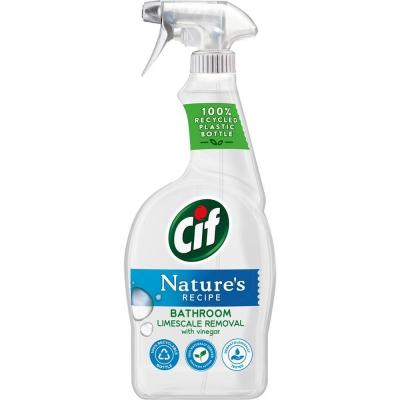 Cif Natures płyn do mycia łazienek 750ml spray - 1