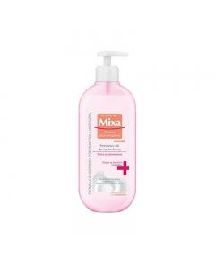 Mixa - Kremowy żel do mycia twarzy