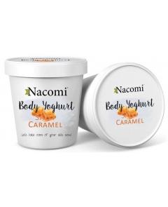 NACOMI Jogurt do ciała Karmel 180ml