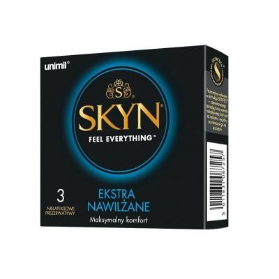 UNIMIL Prezerwatywy Skyn Extra Nawilżenie 3szt. - 2