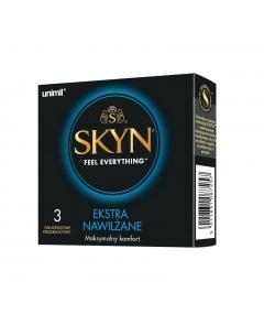 UNIMIL Skyn Extra Nawilżenie prezerwatywy 3szt.