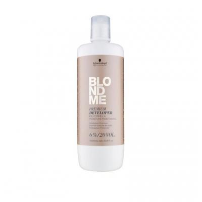 Schwarzkopf Blondme 20vol - Woda Utleniona 6% 1000ml - 1