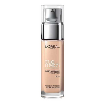 LOREAL TRUE MATCH THE FOUNDATION PODKŁAD N4 BEIGE - 1