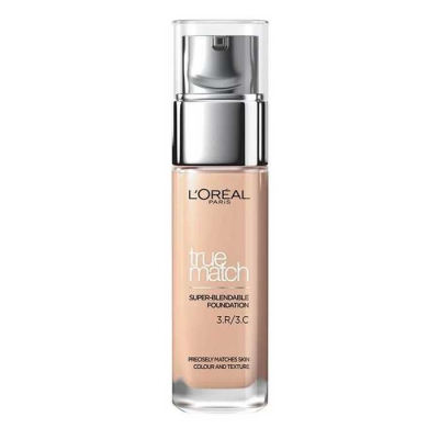 LOREAL TRUE MATCH THE FOUNDATION PODKŁAD R3 C3 ROSE BEIGE - 1