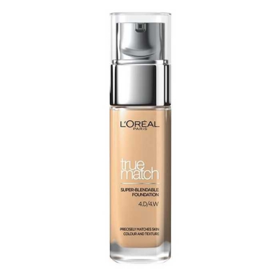 LOREAL TRUE MATCH THE FOUNDATION PODKŁAD D4 W4 GOLDEN NATURAL - 1