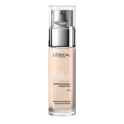 LOREAL TRUE MATCH THE FOUNDATION PODKŁAD N1 IVORY - 1