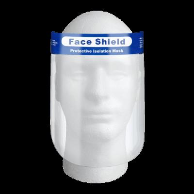 Osłona na twarz – przyłbica ochronna z solidnym paskiem medyczna 1szt. - 1