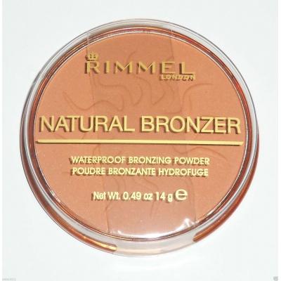 RIMMEL LONDON NATURAL BRONZER SPF15 BRONZER 14G 025 SUN GLOW - 1