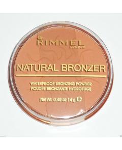 RIMMEL LONDON NATURAL BRONZER SPF15 BRONZER 14G 025 SUN GLOW