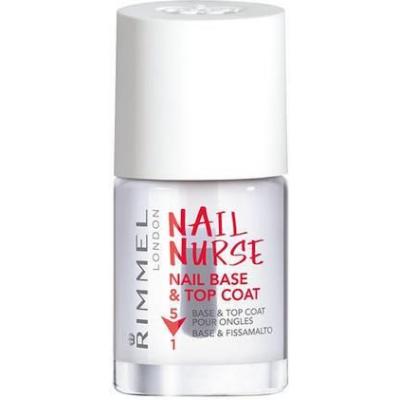 Rimmel London Nail Nurse Base & Top Coat - 1