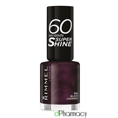 Rimmel 60 Seconds Nail Polish Super Shine 345 - 1