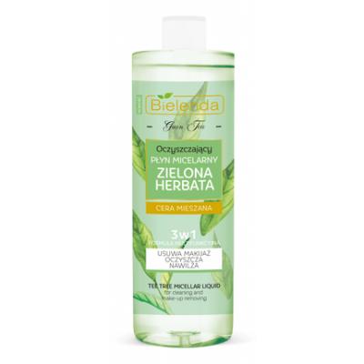Bielenda Zielona Herbata Płyn micelarny 3w1 500 ml - 1
