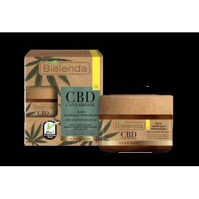 Bielenda CBD Krem nawilżająco-detoksykujący 50 ml - 1