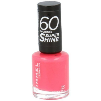 Rimmel London 60 Seconds Super Shine 407 Hot Tropicana - 1