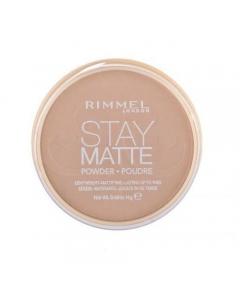 Rimmel London Stay Matte 010 Warm Honey 14g