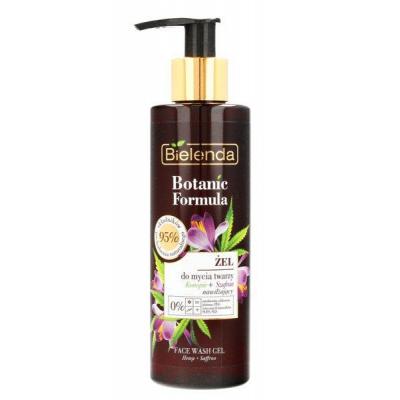 Bielenda Botanic Olej z Konopi+Szafran Żel do mycia twarzy nawilżający 200ml - 1