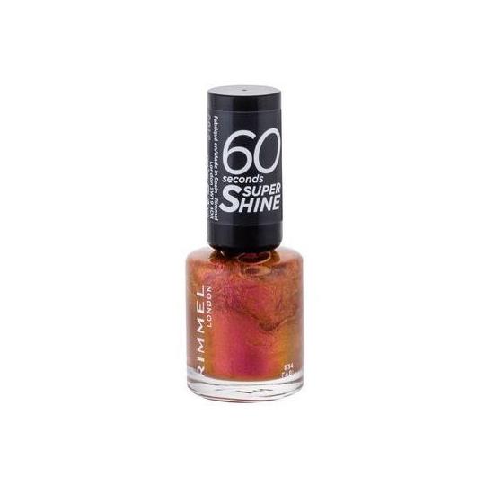 Rimmel 60 Seconds Nail Polish Supe Shine 834 - 1