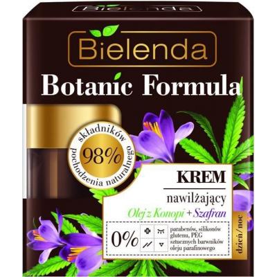 Bielenda Botanic Formula Olej Z Konopi + Szafran Krem Do Twarzy Nawilżający 50ml - 1